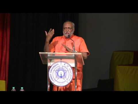 Discourse by Shri Swami Sukhabodhanandaji at Christ University