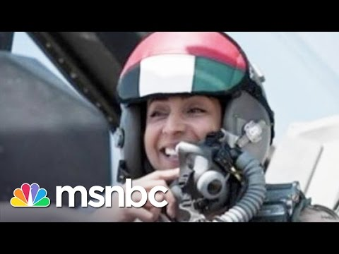 First Female UAE Pilot In ISIS Strikes | Morning Joe | MSNBC