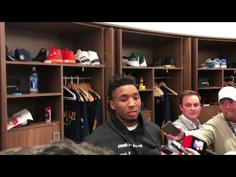 Donovan Mitchell Rookie Hoodie Explanation Youtube