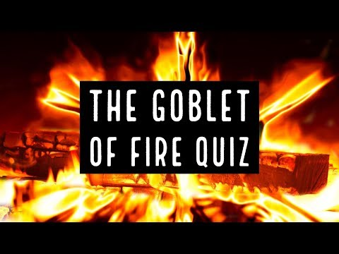 The Goblet Of Fire Book Quiz
