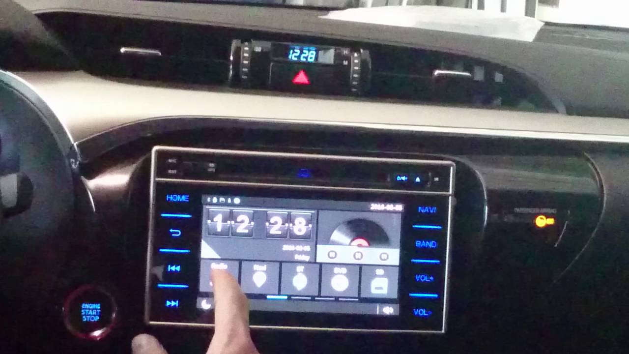 Stereo Multimedia para Toyota Hilux - YouTube