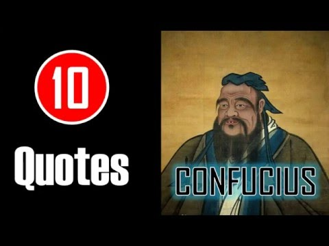 [10 Quotes] Confucius - Attack the evil that is within yourself