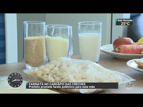 Prefeitura de SP deve incorporar farinata em merenda escolar ainda este mês | SBT Brasil (18/10/17)