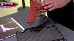 TSA demonstrates how to properly fly with guns