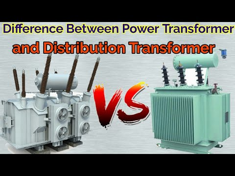 Difference Between Power Transformer and Distribution Transformer in Hindi  ||