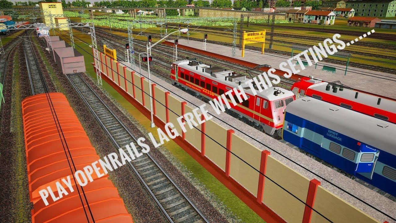 Open Rails Settings