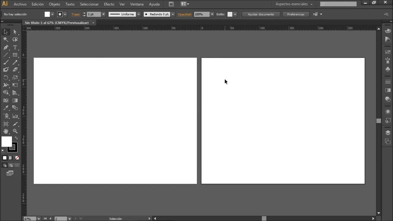 Como Usar Cuadriculas Reglas Y Guias En Adobe Illustrator Youtube