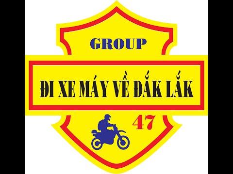 Logo Group Đi Xe Máy Về Đắk Lắk!