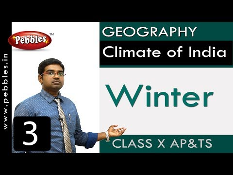 Winter | Climate of India | Social Science | Class 10