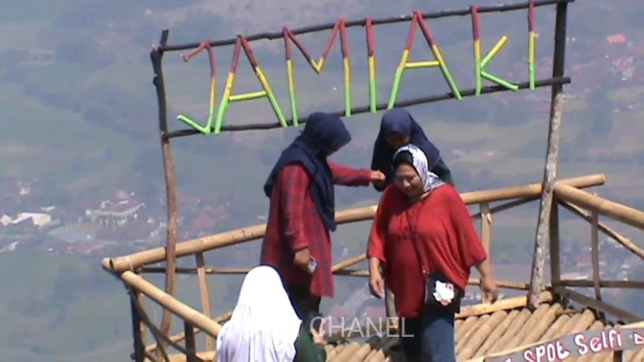 Wisata Datar Jamiaki Puncak Gunung Sawal Ciamis
