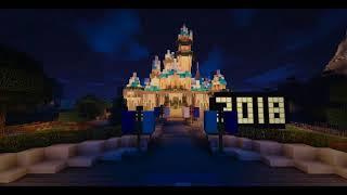 Minecraft Disneyland New Years Eve 2019