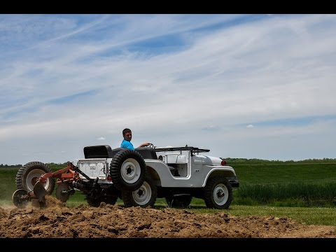 AgriJeep Farm Jeeps in Action