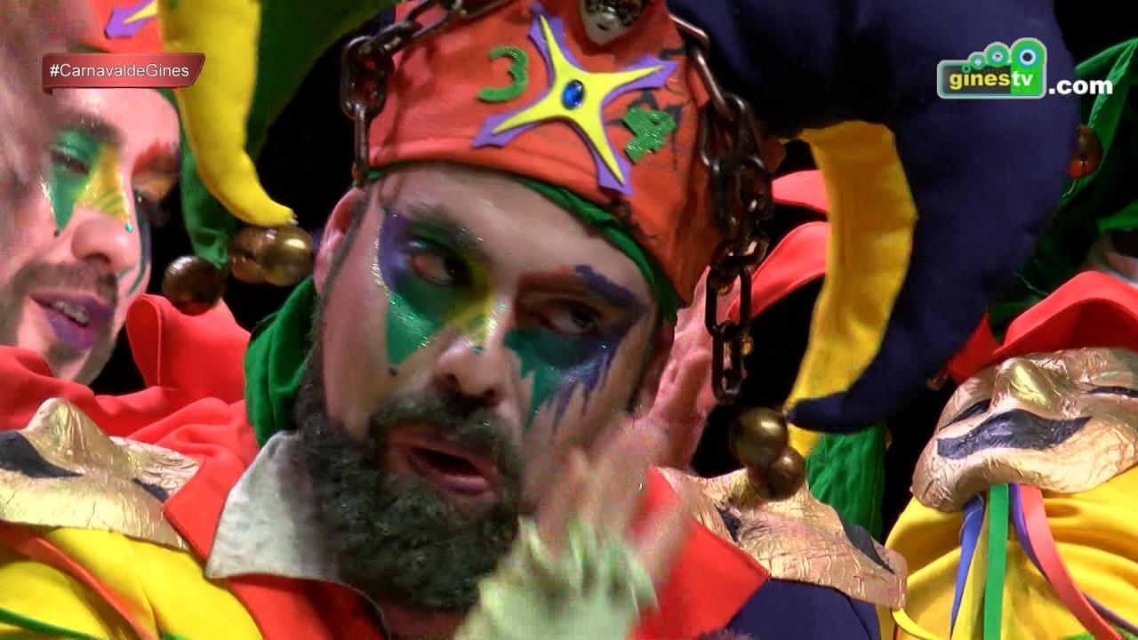 Los pecadores. Carnaval de Gines 2017 (Cuarta semifinal)