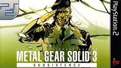Longplay of Metal Gear Solid 3: Subsistence