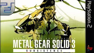 Longplay of Metal Gear Solid 3: Subsistence