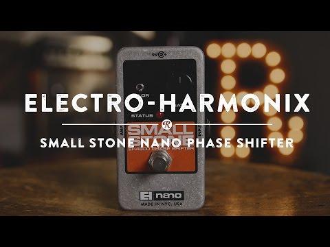 Electro-Harmonix Small Stone Nano Phase Shifter | Reverb Demo Video