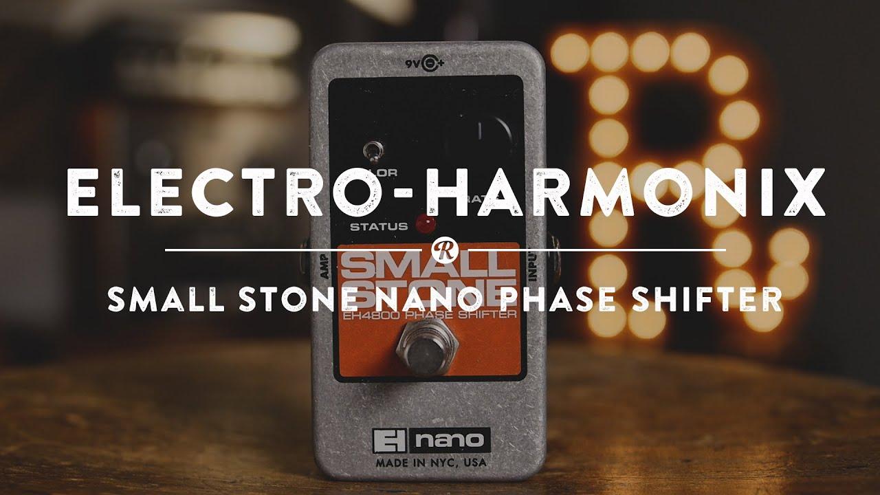 electro harmonix small stone nano phase shifter reverb demo video youtube. Black Bedroom Furniture Sets. Home Design Ideas