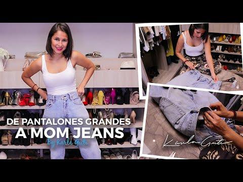 De Pantalones Grandes A Mom Jeans By Karla Guti Youtube