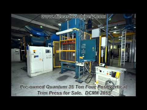 Used Quantum Vertical Trim Press. DCM 2055