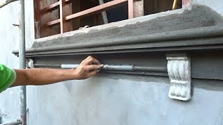 Smart Techniques Construction Of Beautiful Window Legs - Building Houses Step By Step