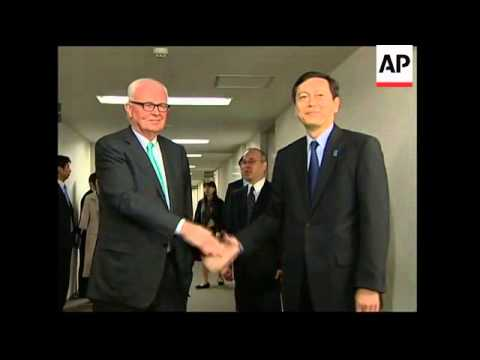 US special envoy for NKorea meets Japanese counterpart
