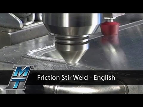 Friction Stir Welding Demonstration - English