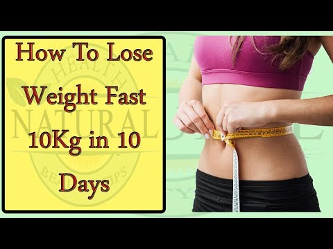 HOW TO LOSS WEIGHT FAST AT HOME 10KG IN 10 DAYS || EASY AND QUICK WAY ||