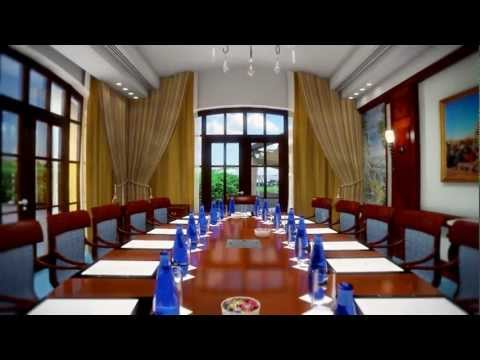 The St. Regis Mardavall Mallorca Resort Virtual Tour featuring the Meeting Room Boardroom
