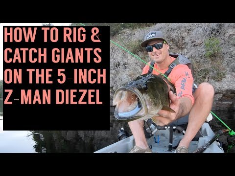 TACKLE TIP: How To Rig The Z-MAN 5-inch Diezel Minnowz Swimbait