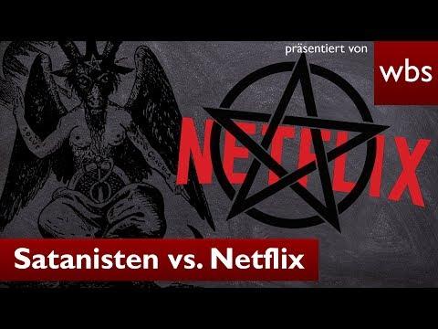 Satanisten verklagen Netflix - Baphomet in