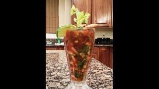 Mexican Shrimp Cocktail - Coctel De Camarones - Mariscos