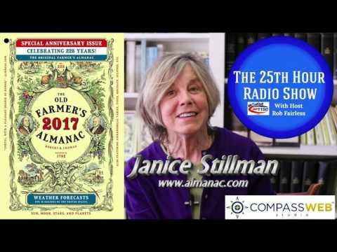 Janice Stillman - Editor - The Old Farmer's Almanac - Oldest Periodical In American History