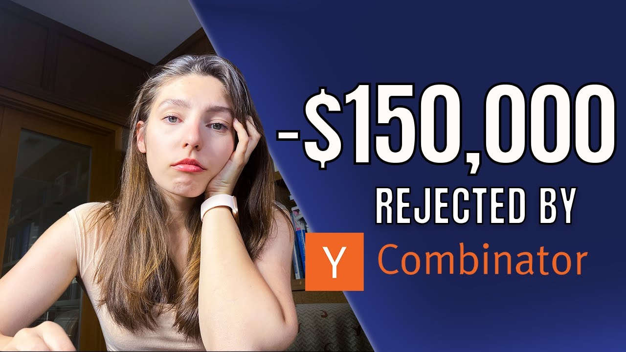 I pitched my startup to Y Combinator (startup accelerator) for $150,000 and got rejected.