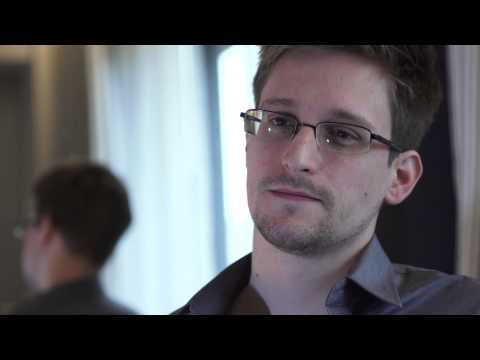 Thumbnail: NSA whistleblower Edward Snowden: 'I don't want to live in a society that does these sort of things'