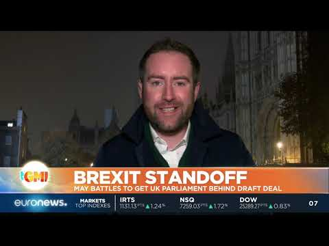 euronews (in English): Brexit Standoff: May battles to get UK Parliament behind draft deal | #GME