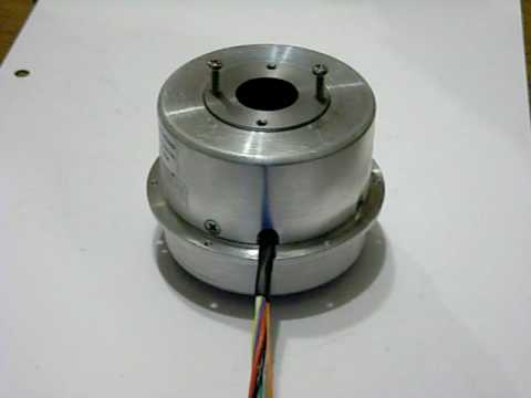 High speed rotational stage with hollow shaft servo motor for High speed servo motor