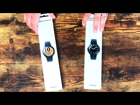 My first day with the Samsung Galaxy Watch 4 (unboxing)