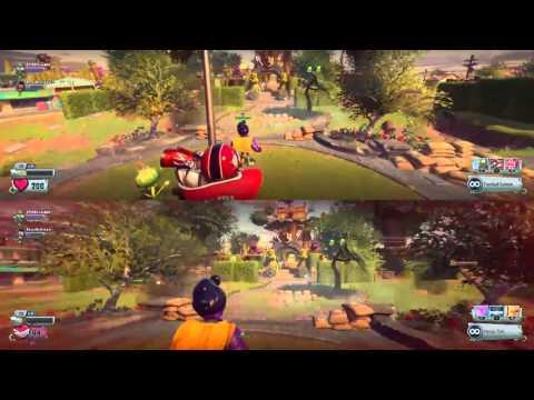 How To Split Screen Plants Vs Zombies Garden Warfare 2 Doovi