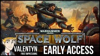 Warhammer 40K: Space Wolf - PC Gameplay