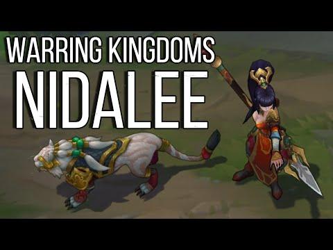 Warring Kingdoms Nidalee | Skin Spotlight [GER][HD]