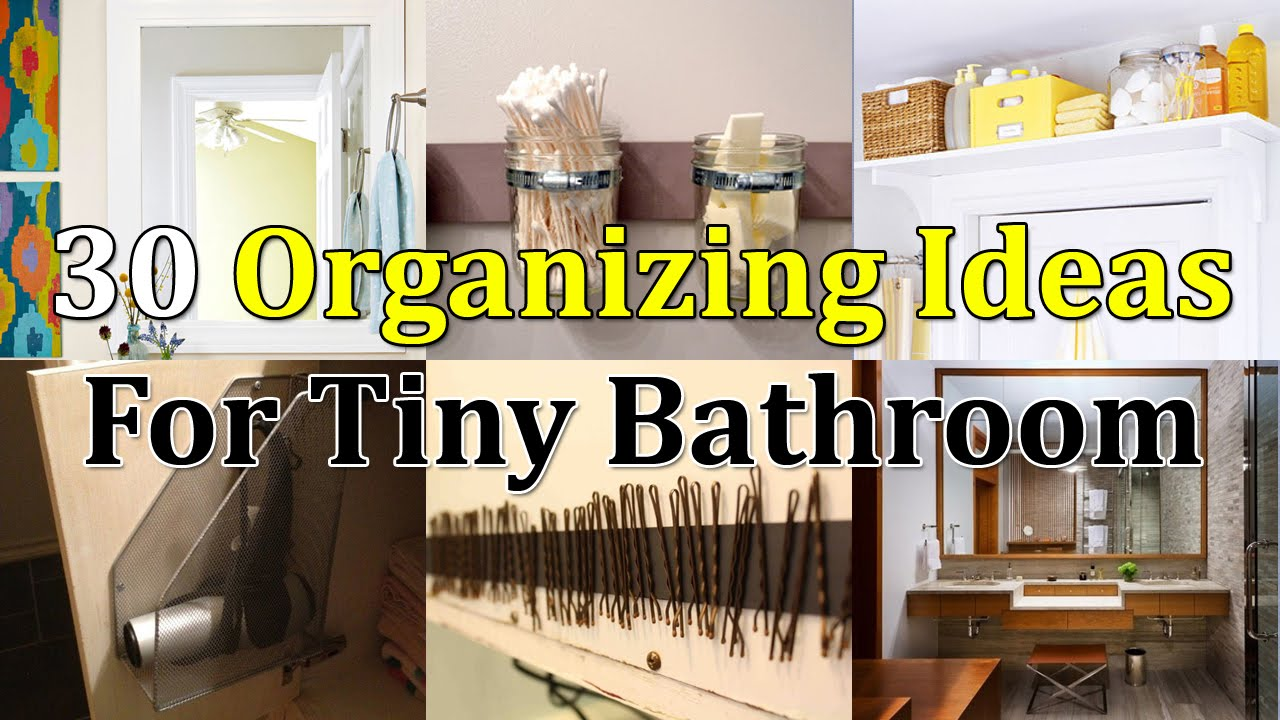 30 Brilliant Organizing Ideas For Tiny Bathroom Youtube,Traditional Neutral Living Room Colors