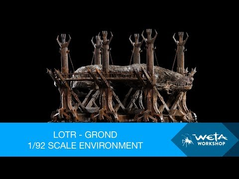 The Lord of the Rings - Grond 1/92 Scale Environment by Weta Workshop