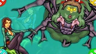 🐾 Текила зомби 3. #4. БОСС ПАУК. Бесплатная онлайн игра  Tequila Zombies 3. Funny games.