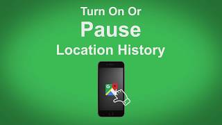 Google Maps   Turn On Or Pause Location History Free HD Video