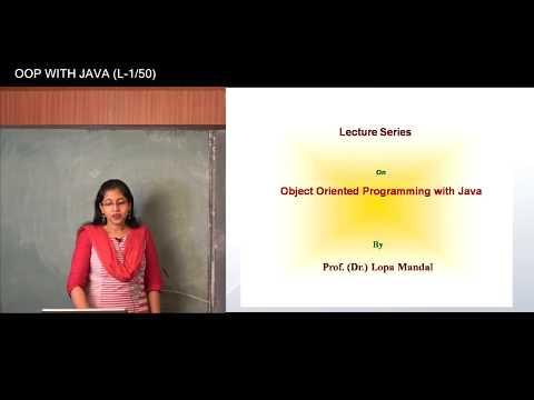 JAVA | LECTURE - 1 | PROF. DR. LOPA MANDAL | Gymkhana TV | IEM