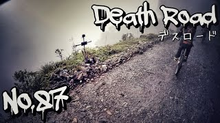 No.87【ランチアの世界一周】年間100人の死者を出した、死の道「デスロード」攻略 !! ボリビアの事故多発ゾーンをマウンテンバイク1台で駆け抜ける!Death  Road , Bolivia