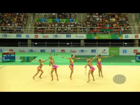 Finland (FIN) - 2016 Olympic Test Event, Rio (BRA) 3CL2HO Qualifications