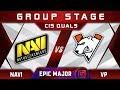 NaVi vs VP [EPIC] TOP 1 EPICENTER Major 2019 CIS Highlights Dota 2