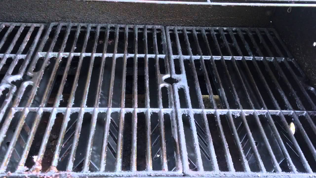 how to replace a gas grill heat shield youtube