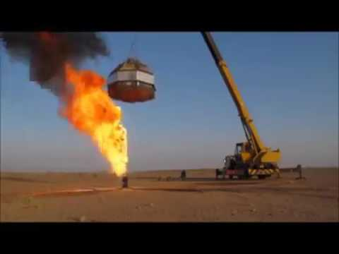 How oil well fire extinguished